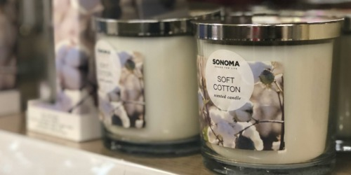 SONOMA 3-Wick Candles as Low as $5.51 Each Shipped for Kohl's Cardholders