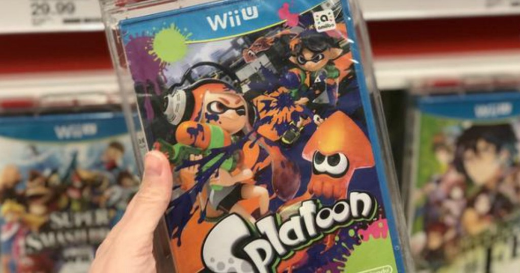 Splatoon Wii U Preowned Game Only 9 99 On Gamestop More Hip2save