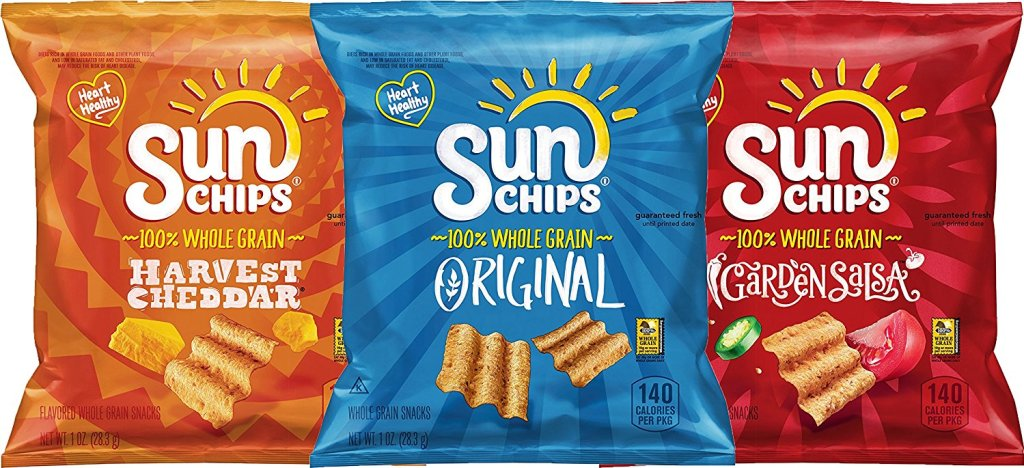Amazon Sunchips 40 Count Variety Pack Only 1264 Shipped Just 32