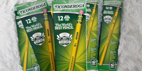 Amazon: Ticonderoga Pencils 96-Count Box $9.96 (Only 10¢ Per Pencil) – Awesome Reviews