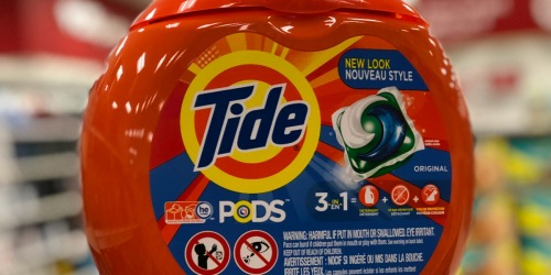 Tide PODS 81-Count Tubs Only $13.97 Each Shipped on Amazon + More