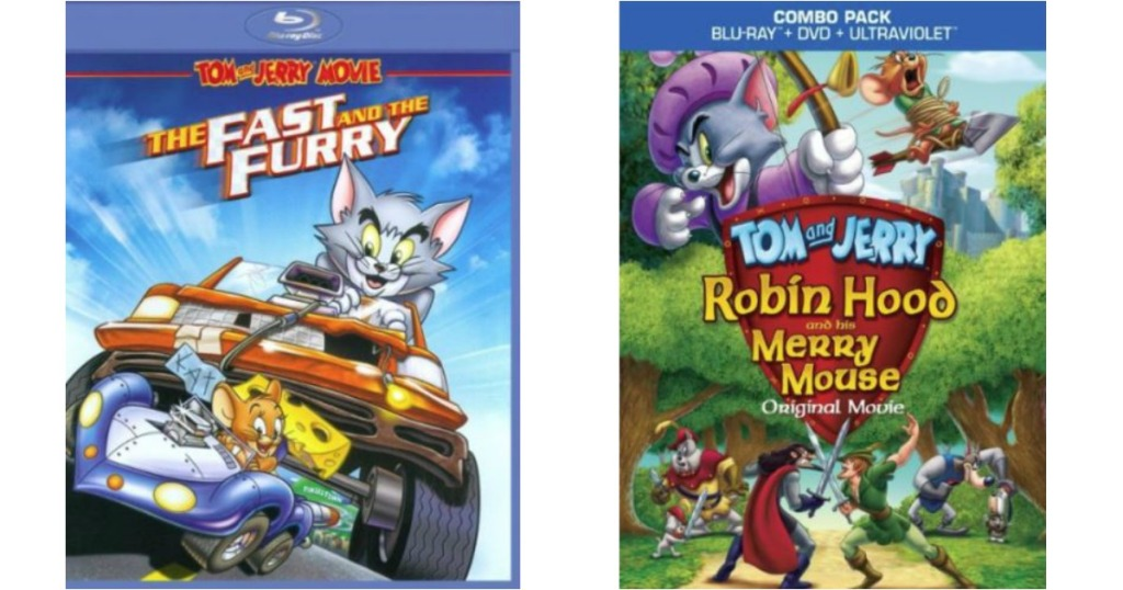 Best Buy: Tom & Jerry Blu-ray Movies Only $4 99 & More