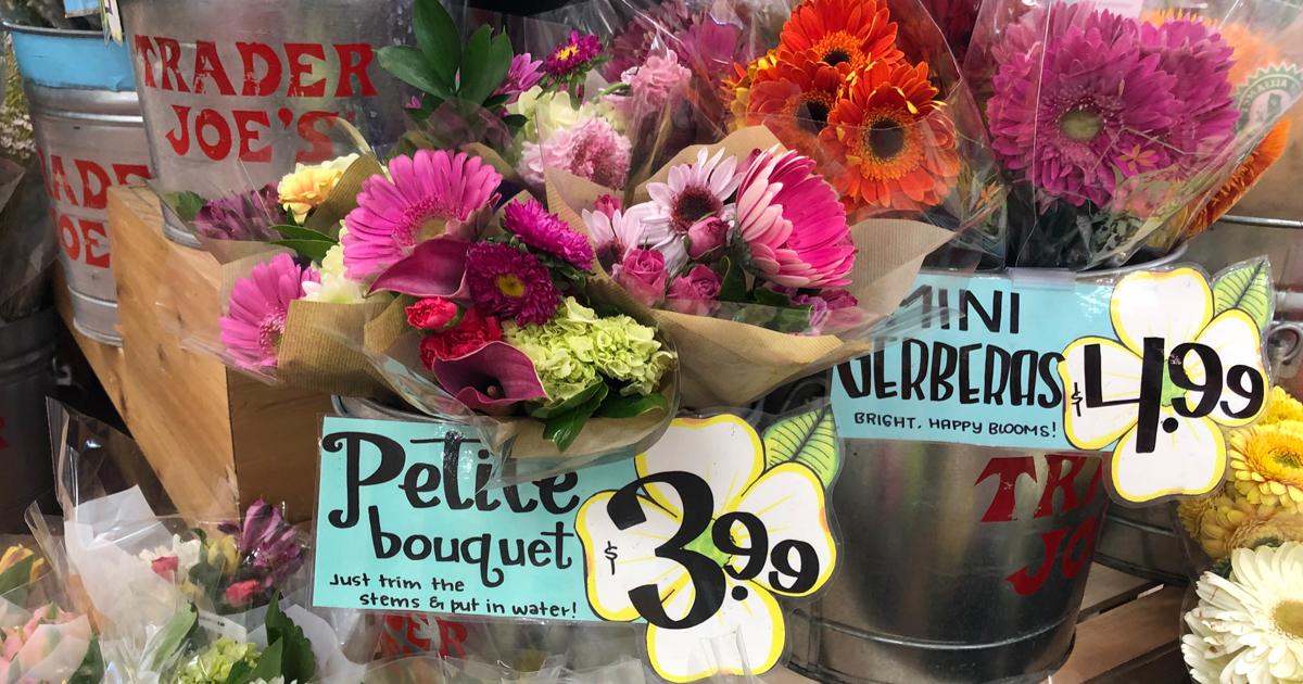 Valentines Day At Trader Rose >> Trader Joe S Flower Bouquets Just 3 99 Hip2save
