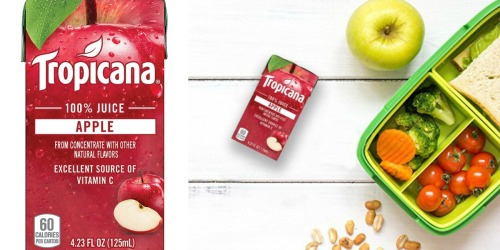 Amazon: Tropicana 44-Count Juice Boxes $9.39 Shipped (21¢ Each)+ More