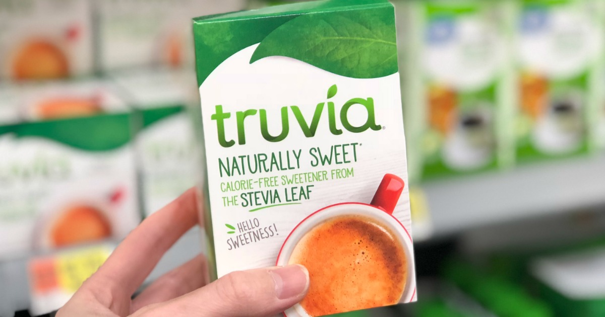 picture relating to Truvia Coupons Printable referred to as No cost Truvia Sweetener Following Money Back again at Walmart - Hip2Conserve