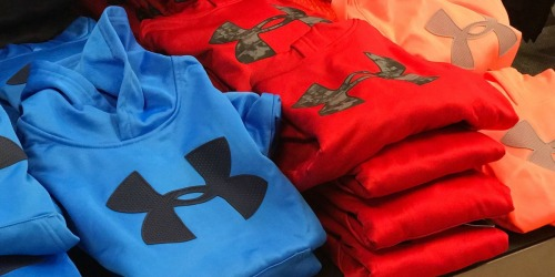 Up to 60% Off Under Armour Hoodies + Free Shipping