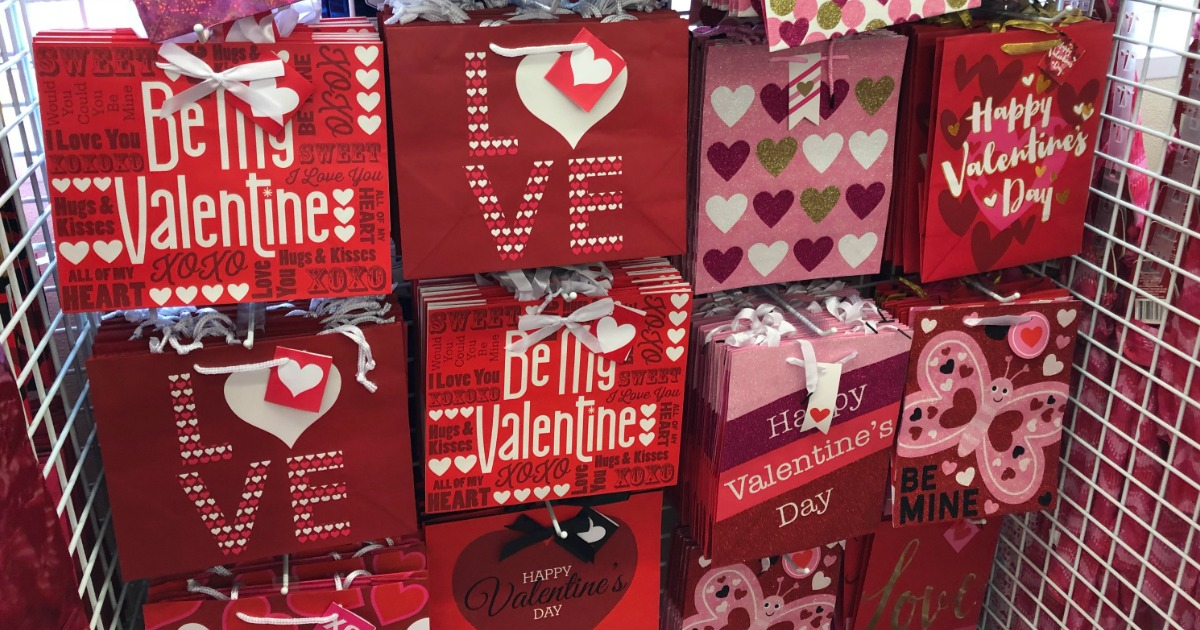 Valentine's Day Gift Bags, Ribbons & More Only $1 at ...