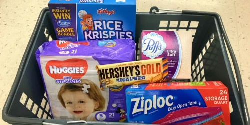 40¢ Hershey's Bars, Under $5 Huggies Diapers and More at Walgreens Starting 2/11