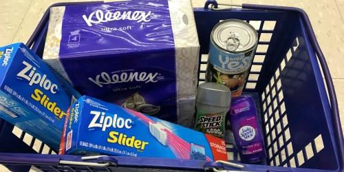 47¢ Speed Stick, $1 Ziploc, Cheap Kleenex & More at Walgreens (Starting 2/25)