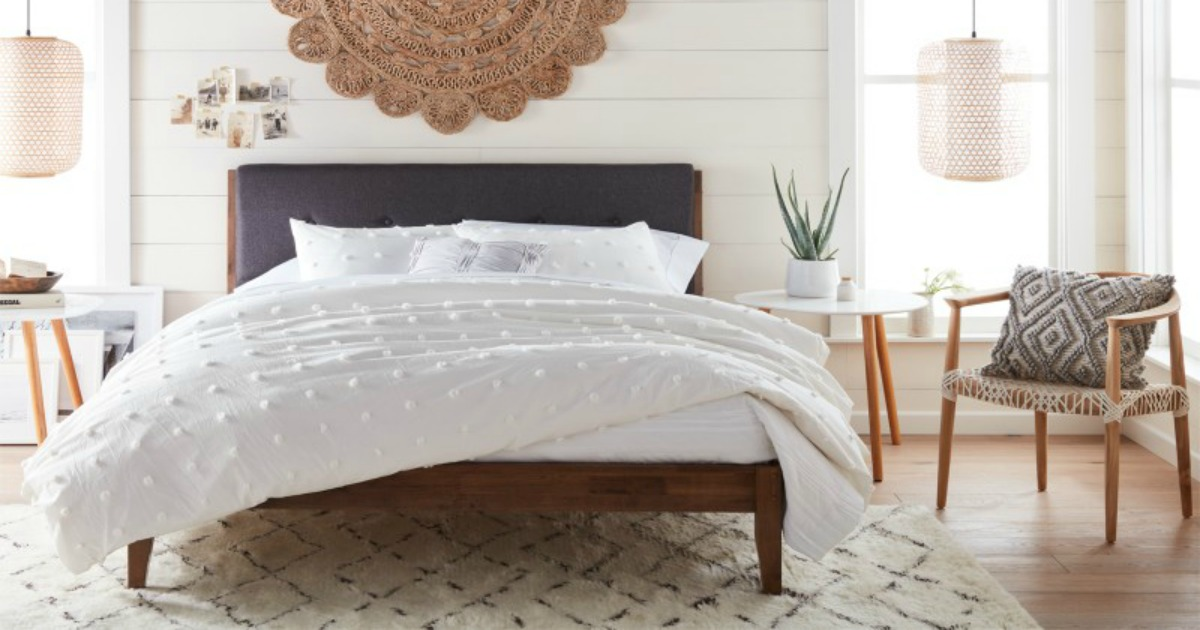 walmart new decor line chic bedspread