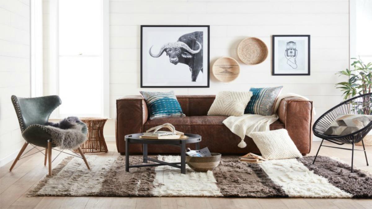 walmart new decor line living room boho