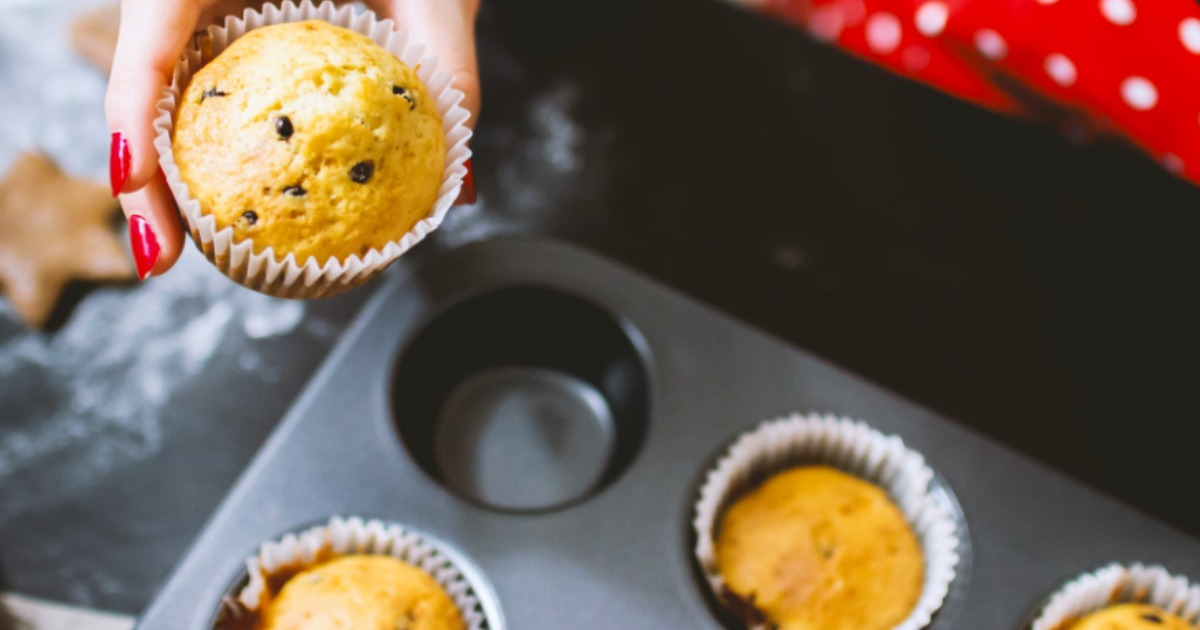muffins in wilton muffin pan