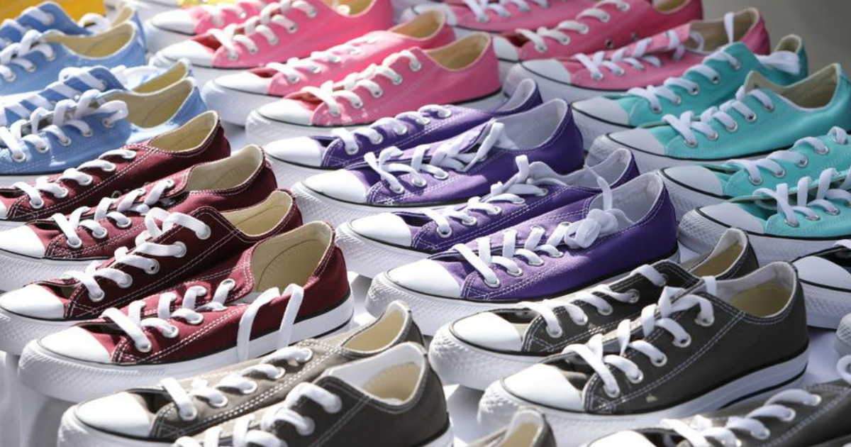 Up to 70% Off Converse Shoes for the Whole Family + Free