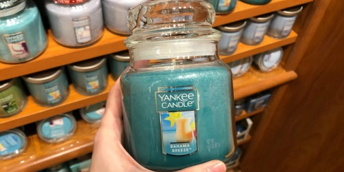 Extra 10%-20% Off Yankee Candle Purchase Including Sale Items (Online & In Store)