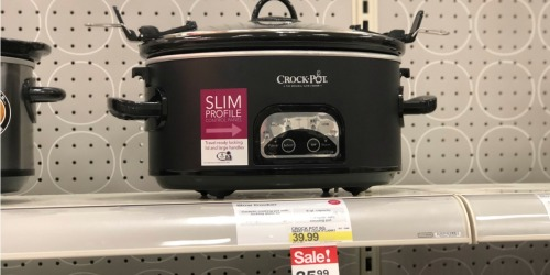 FREE $20 Target Gift Card w/ $75 Kitchen Appliance Purchase (Crock Pot, Mr. Coffee & More)