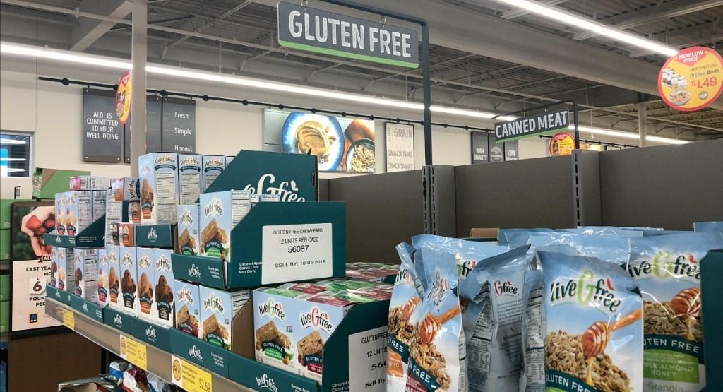 livegfree gluten free line from aldi hip2save