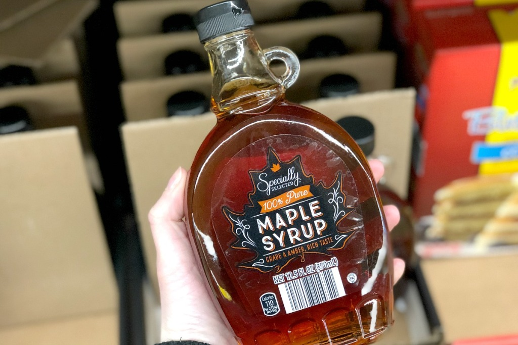 specially selected aldi maple syrup hip2save