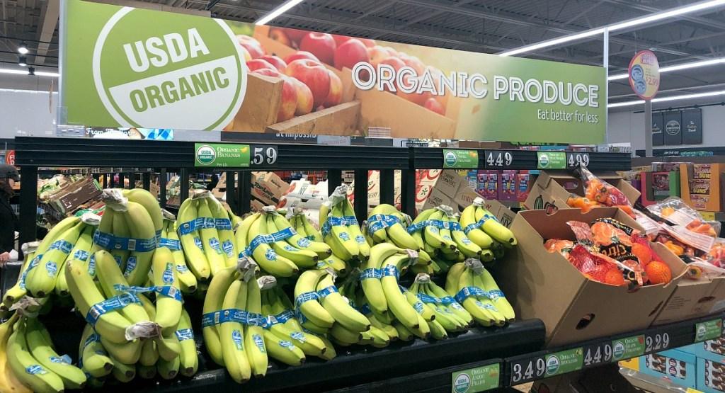 organic produce at aldi hip2save