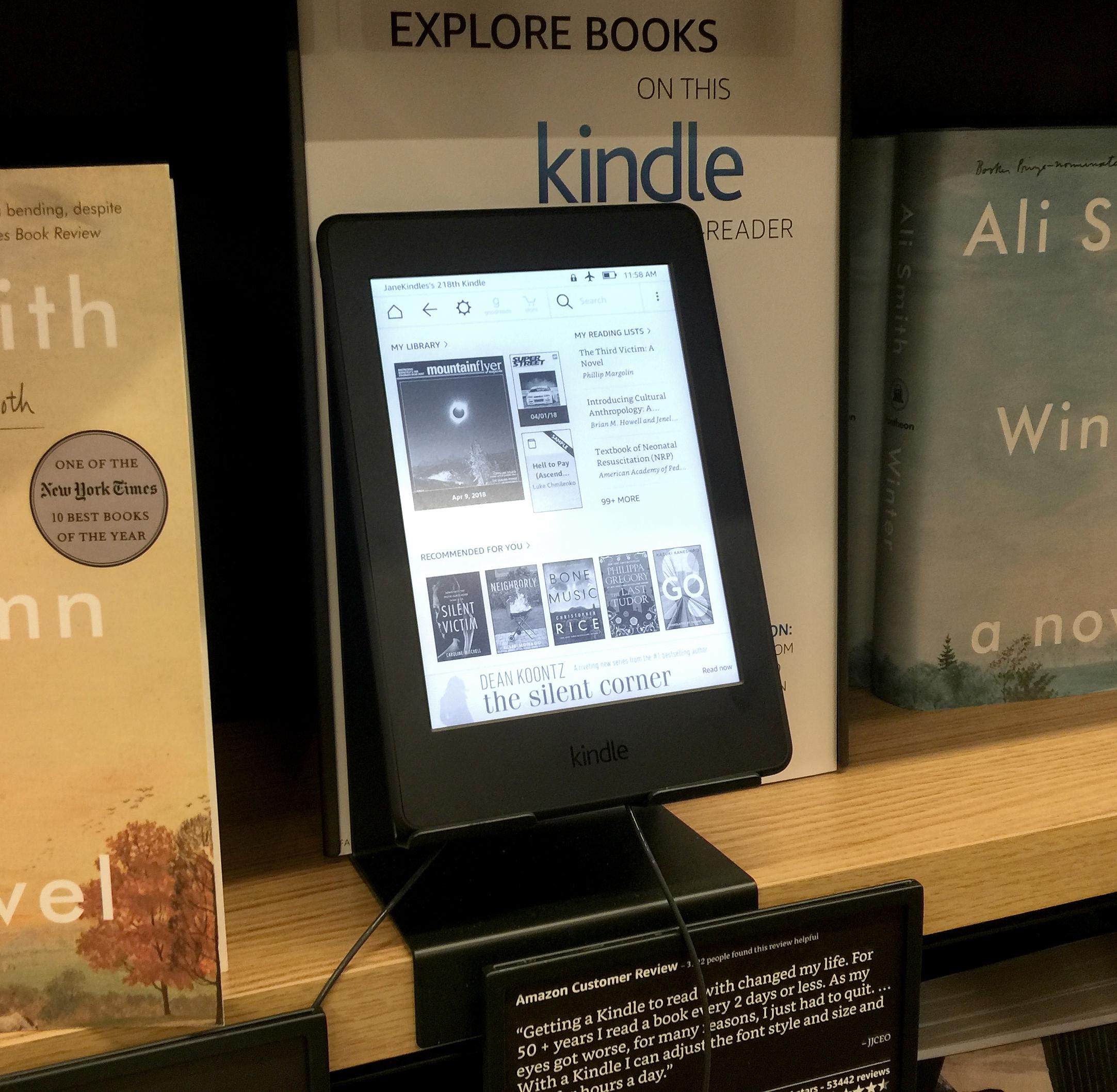 Amazon Books on Kindle