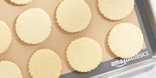 AmazonBasics Silicone Baking Mats 3-Pack Only $8.69 at Amazon (Just $2.89 Each)