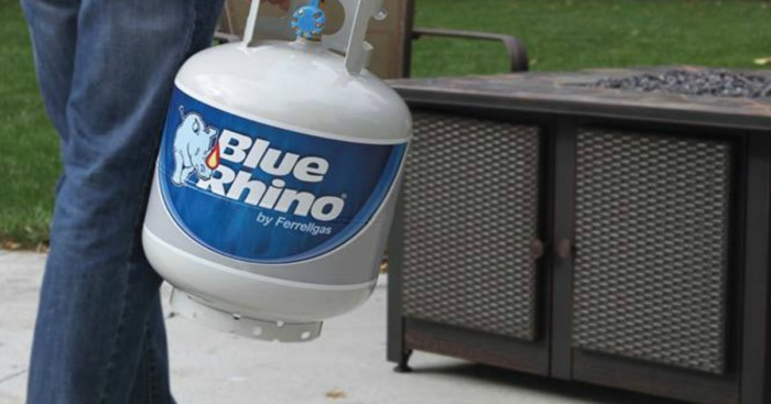Blue Rhino Certified 100/% Full Propane Tank For Grill Fire Pit Patio Heater etc