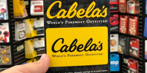 $100 Cabela's Gift Card Just $90 Shipped
