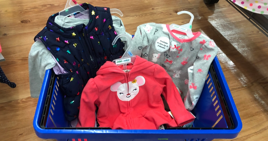 964e8ca71 Head on into Walmart and keep your eyes open for possible clothes for the  kiddos on clearance for up to 70% off including Carther's, Healthtex and  more.