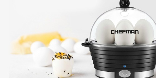 Chefman Electric Egg Cooker Only $9.99 (Regularly $40)