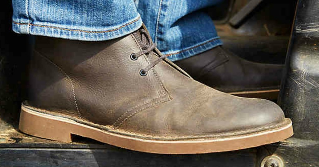 39a7495a448 Macy's: Clarks Mens Boots Only $33.99 (Regularly $100) + More - Hip2Save