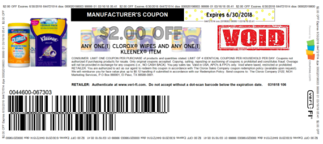 image about Clorox Printable Coupons identified as Exceptional $2 Off Clorox Wipes AND Kleenex Solution Coupon (Simply