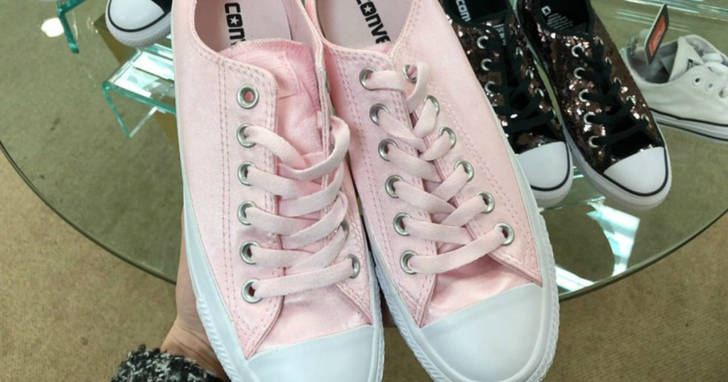 d373e59e8106 Hop on over to Macy s.com where you can score up to 50% off select Converse  Shoes!