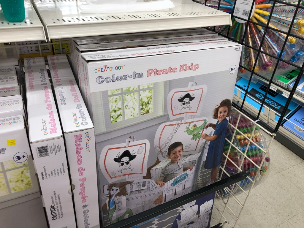 Michaels: Large Kids Coloring Playhouses Just $15 - Hip2Save