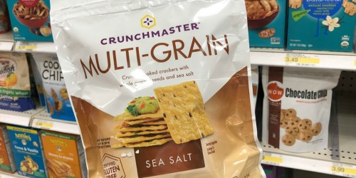 Crunchmaster Gluten Free Crackers Only 39¢ After Cash Back at Target