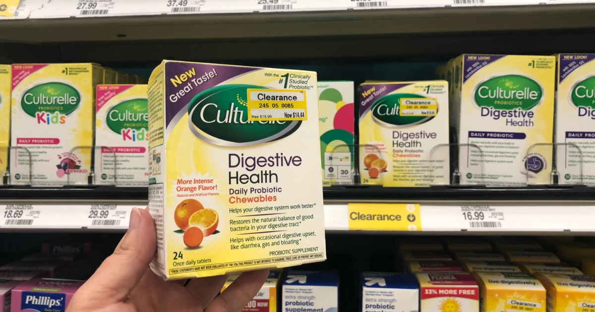 photograph relating to Culturelle Coupon Printable called $10 Relevance of Clean Culturelle Digestive Fitness Discount codes - Hip2Conserve
