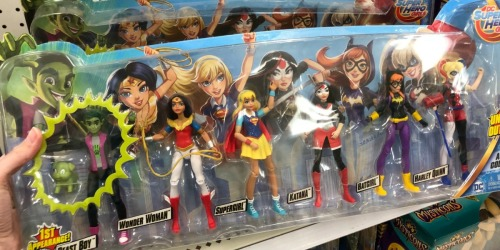 Target: DC Super Hero Girls Action Figure 6-Pack Only $27.99 Shipped (Regularly $48)