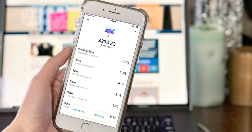 digit app rainy day fund