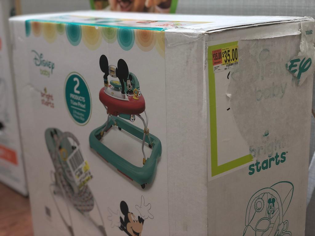 Bright Starts Disney Baby Walker Amp Rocker Set Just 39