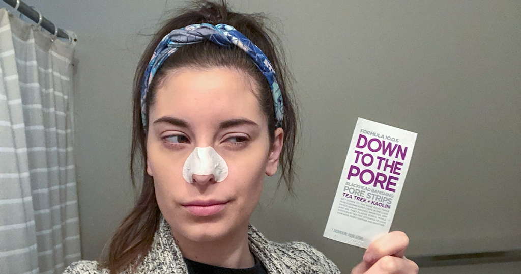 down to the pore blackhead pore strip review hip2save