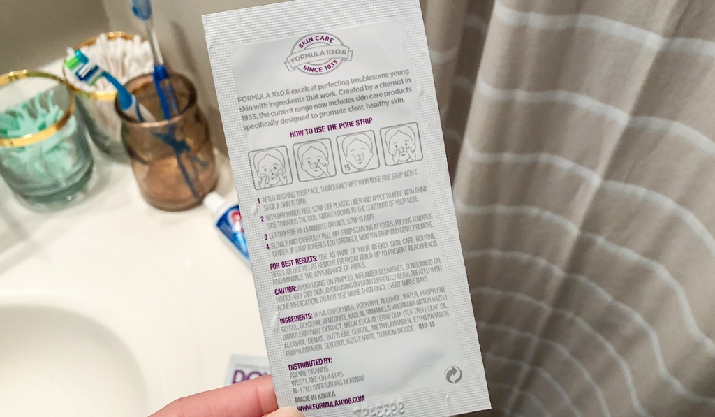 down to the pore blackhead strips instructions hip2save
