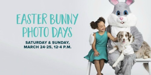 PetSmart: FREE Photo Of Your Pet w/ Easter Bunny (3/24-3/25)