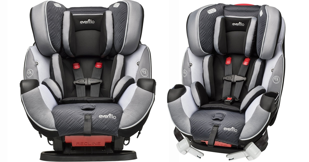 Evenflo Symphony Dlx All In One Convertible Car Seat Only 137