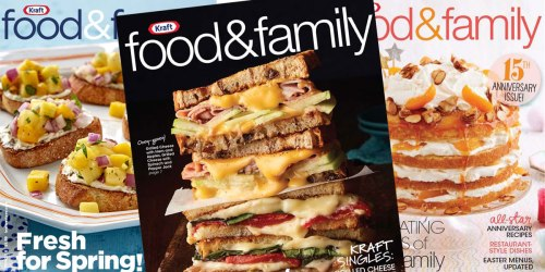 FREE Kraft Food & Family Magazine Two Year Subscription