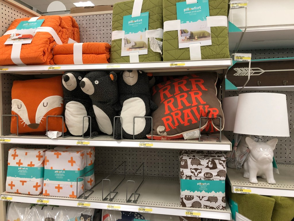 Fun Pillowfort Throw Pillows Only 11 89 At Target Com More Hip2save