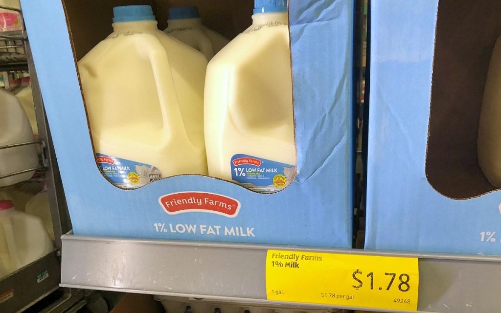 friendly farms milk at aldi hip2save