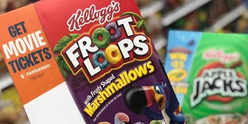 Add 100 Kellogg's Family Rewards Points