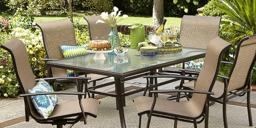 Garden Oasis 7 Piece Outdoor Dining Set Just $279.99 After Shop Your Way Points (Reg. $600)