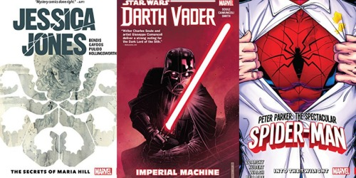 Kindle Edition Graphic Novels Just 99¢ (Star Wars, Spider-Man & More)
