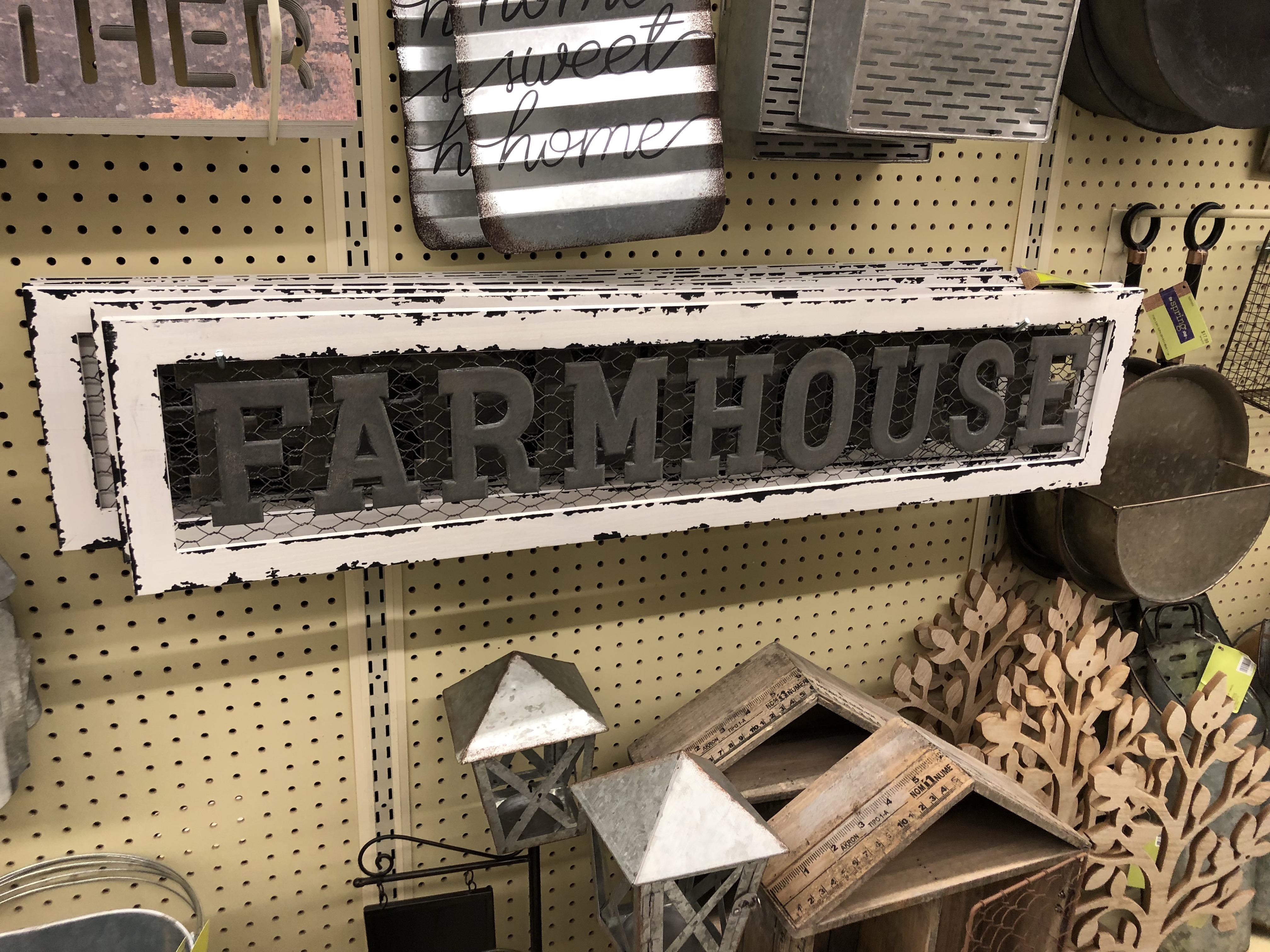 Farmhouse Wall Decor Starting At $4.79 At Hobby Lobby