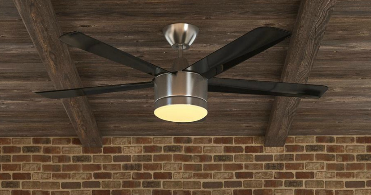 Home Decorators Collection Ceiling Fan: Home Decorators Collection 52-Inch LED Ceiling Fan Only
