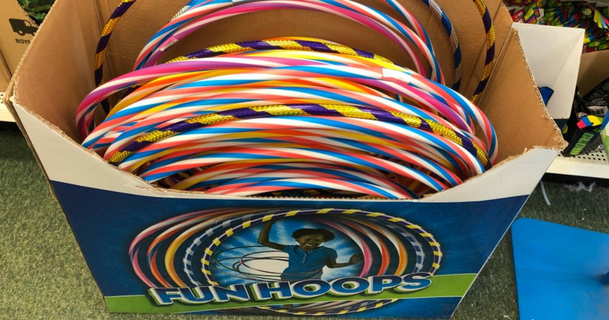 hula hoops at dollar tree